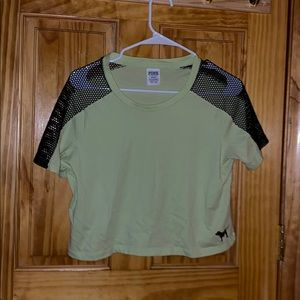 Lime Green Crop Top